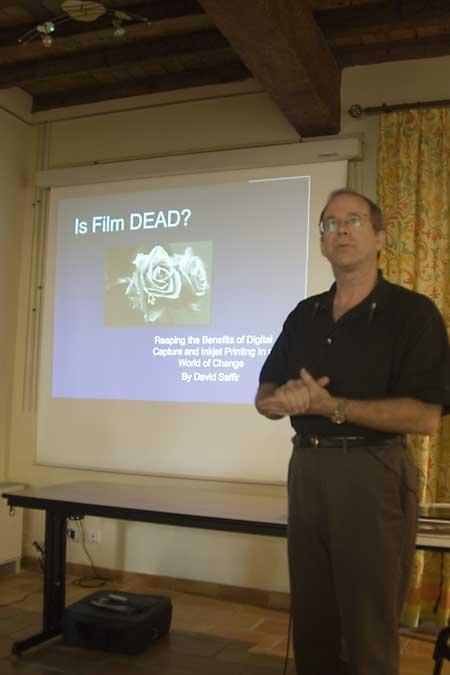 David Saffir Talk at Arles