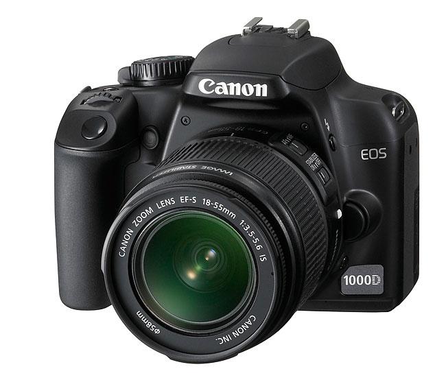 Canon 1000D digital SLR