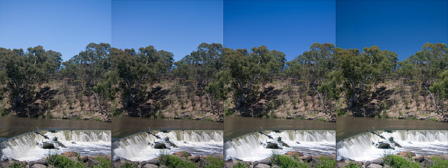 Using two polarizers for variable ND filter