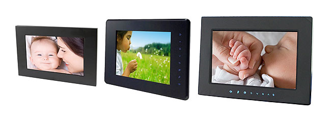 Edge LCD Picture Frame