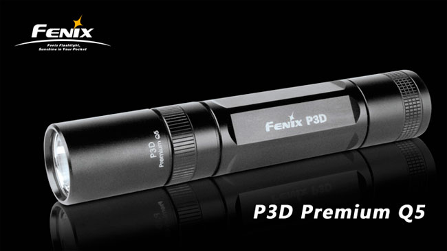 Fenix P3D Flashlight