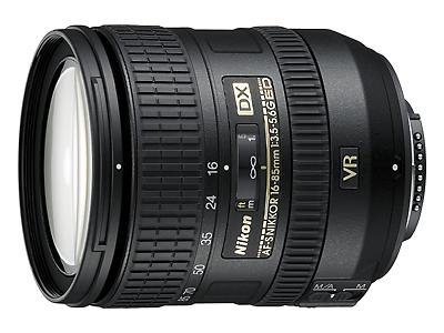 Nikon DX 16-85mm VR lens