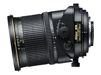 Nikon perspective control SLR lens 24mm