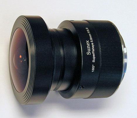 Sunex fisheye lens
