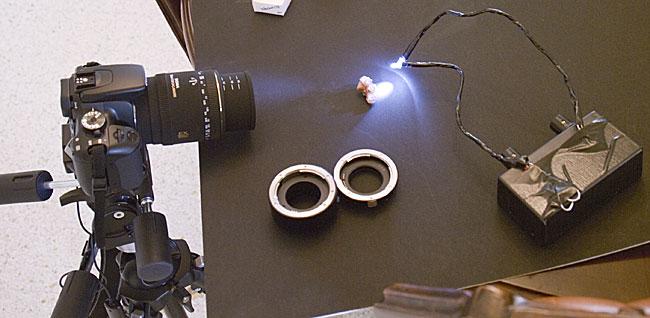 macro photography setup