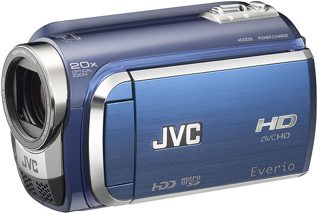 JVC video camcorder camera