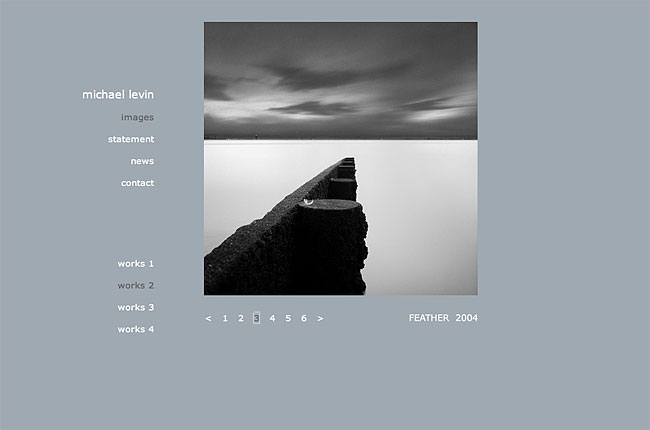 Michael Levin phtography website