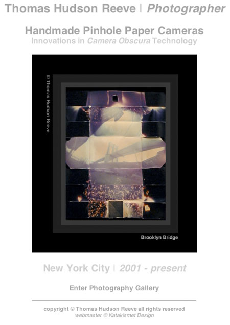 Thomas Hudson Reeve pinhole photography