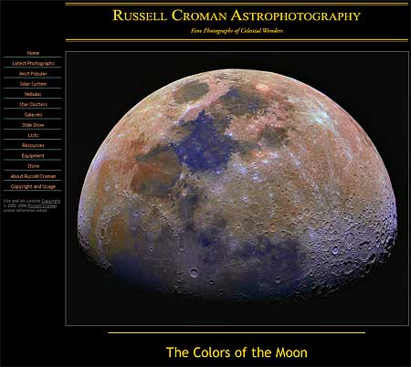 Russell Croman Astrophotography Site Award