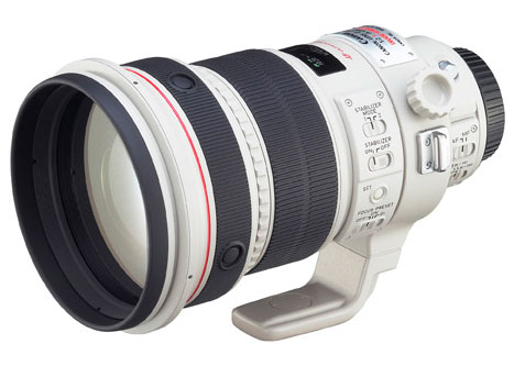 Canon 200mm lens