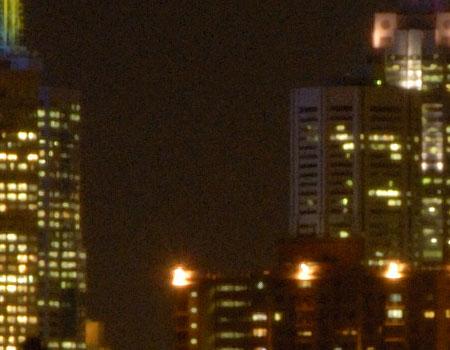 Nikon D200 night noise test image