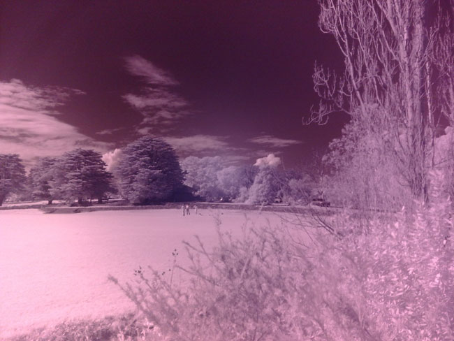Nokia 6220 infrared photography