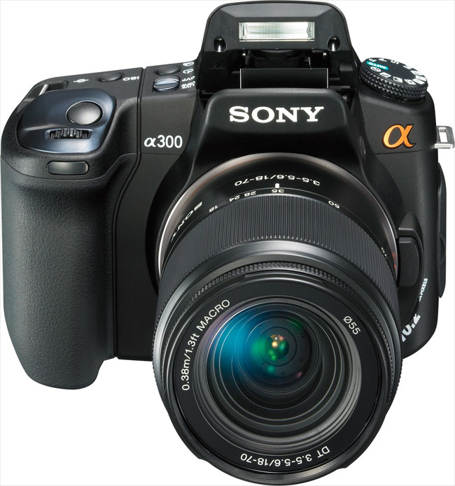 Sony a300 digital camera