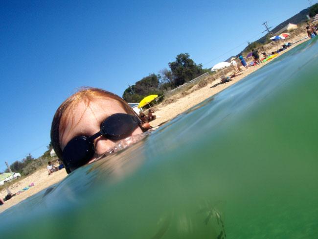 Underwater photograph with Olympus u725SW camera