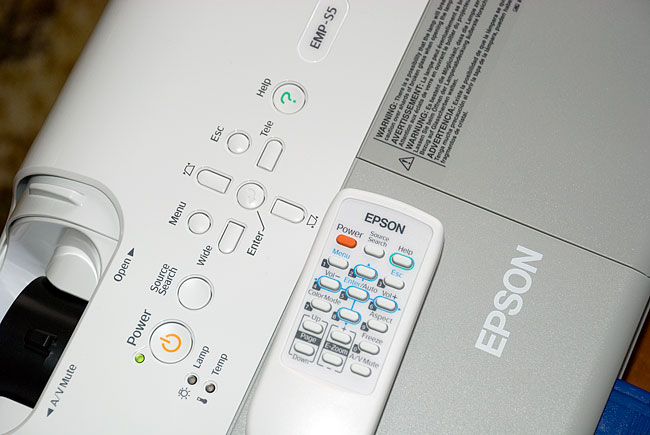 Epson S5 data projector