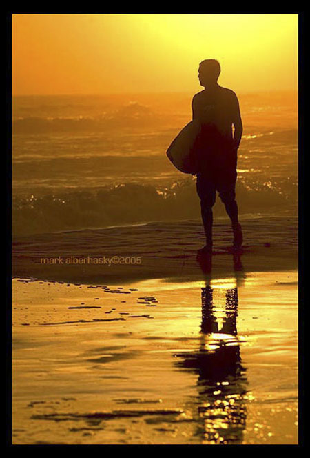 Mark Alberhasky photo of surfer