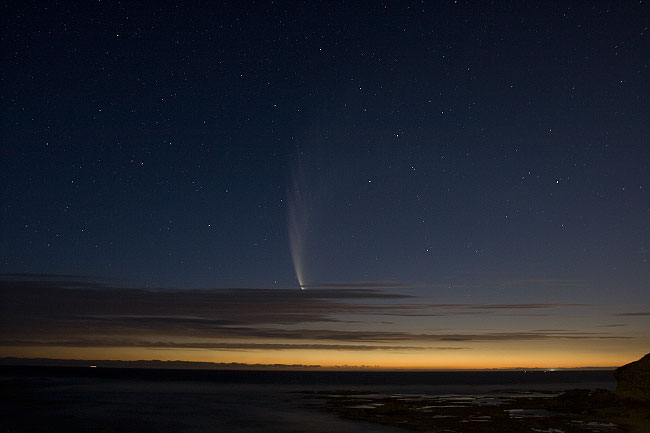 Comet McNaught with 400D