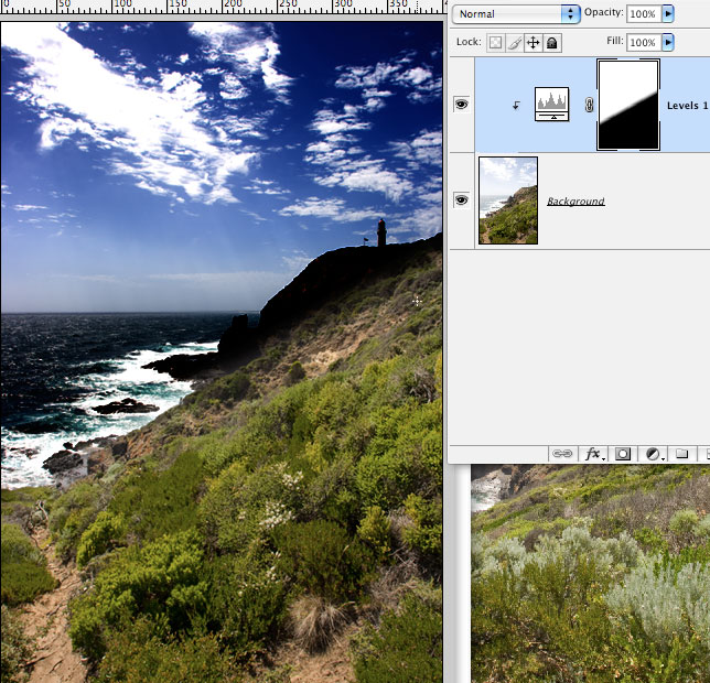 Localized Image Enhancements in Photoshop
