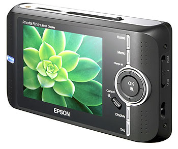 Epson P-4500 multimedia storage viewer