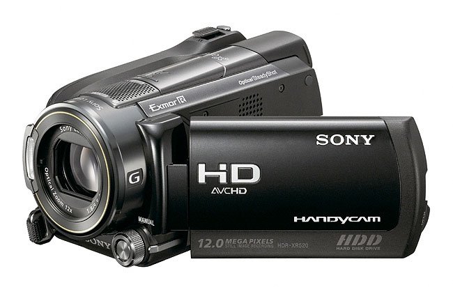 Sony XR520 digital video camcorder